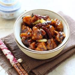 Rasa Malaysia american chinese recipe general tso's chicken