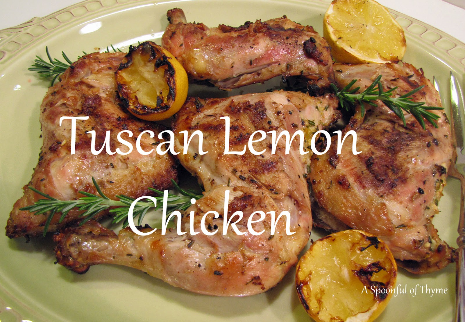 Spoonful of Thyme: Tuscan Lemon Chicken...Second Attempt