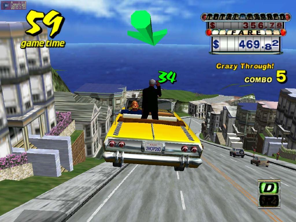 craizy taxi