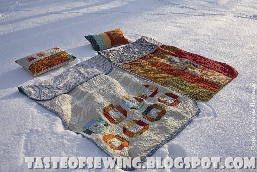quilts with cats, trees and houses / покрывала в стиле печворк с котами, деревьями и домиками