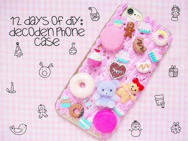 DIY Decoden Phone Case