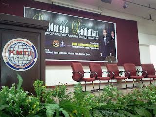 Persidangan Pendidikan Pegawai Perkhidmatan Pendidikan Siswazah Negeri Johor Persediaan