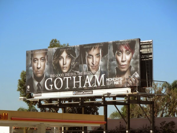 Gotham series premiere billboard