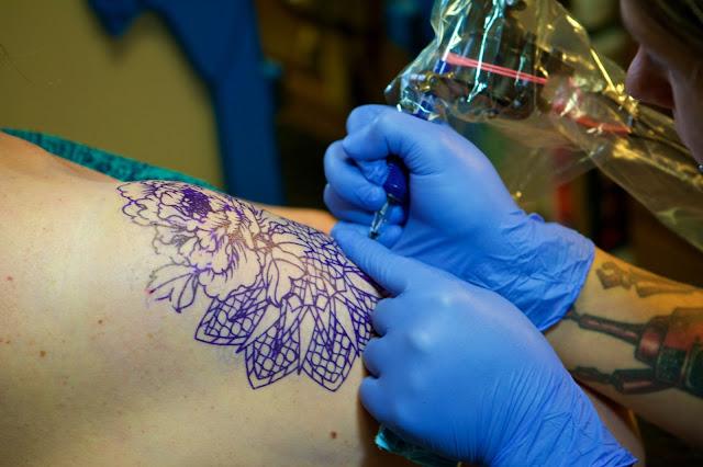 Tammy Sue Allen Photography, Tattoo Session Muskegon Michigan