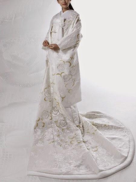 mis vestidos de novia: novia japonesa: kimonos yumi katsura