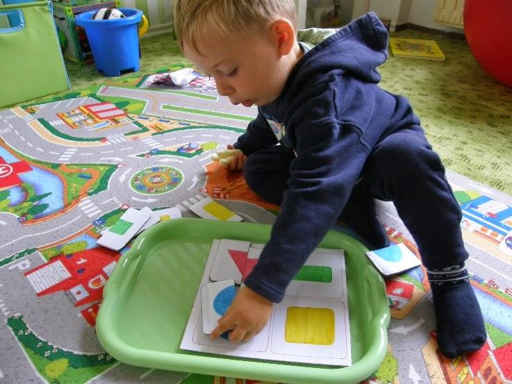 montessori pomůcka, hand made aktivity