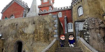 Casal Geek Eurotour 2013 - Descobrindo Sintra - Palácio da Pena