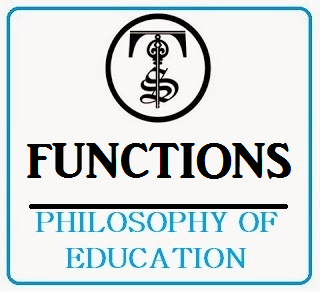 key functions of education from a The functions of education functional theory stresses the functions that education serves in fulfilling a society's various needs perhaps the most important function of education is socializationif children need to learn the norms, values, and skills they need to function in society, then education is a primary vehicle for such learning.
