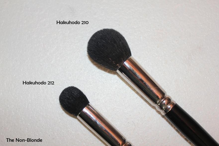 Hakuhodo 212 Highlight Brush The Non Blonde