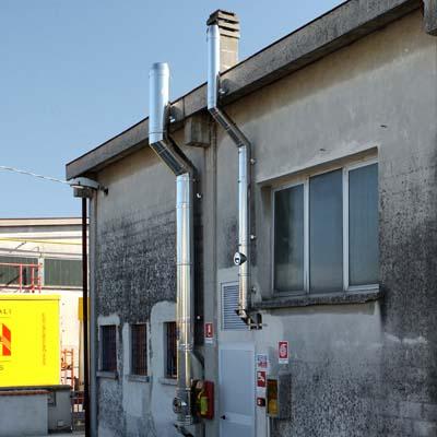 Prestazioni occasionali multiservizi roma montaggio canne - Canna fumaria esterna per stufa a legna ...