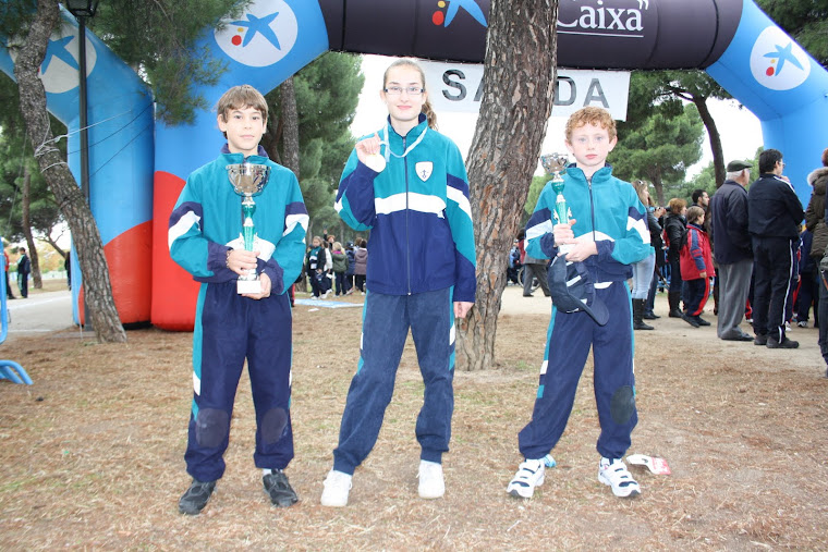 CAMPEONES CROSS ESCOLAR 2011