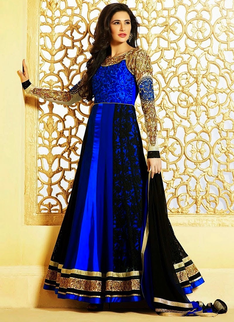 Long floor lenght gowns for parties | Indian Party wear gown designs ...