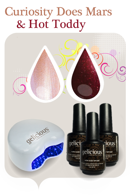 The science of beauty gelicious uv cured gel nails that can be i paid 65 for my shellac manicure and pedicure so for less than the cost of two salon shellac sessions you have a kit to do it yourself at home solutioingenieria Choice Image