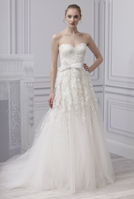 Weddingdressespro monique lhuillier wedding dress 2013 for Monique lhullier wedding dress