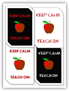 Keep Calm and Teach On free printable