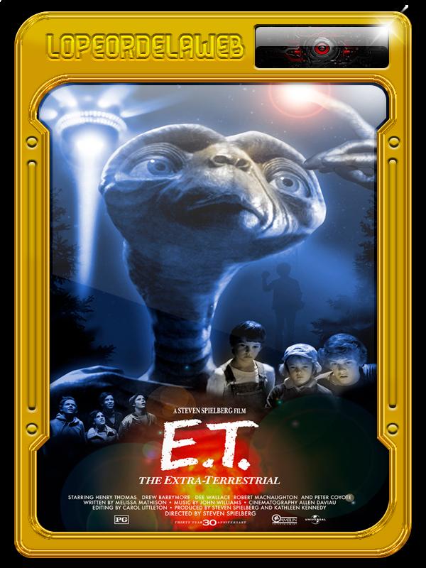 E.T. El Extraterrestre (1982) [BrRip-720p-Dual-Mega]
