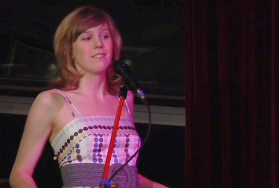 Natalie shakes it live @ Hey it's Pomplamoose, 29 March 2011.