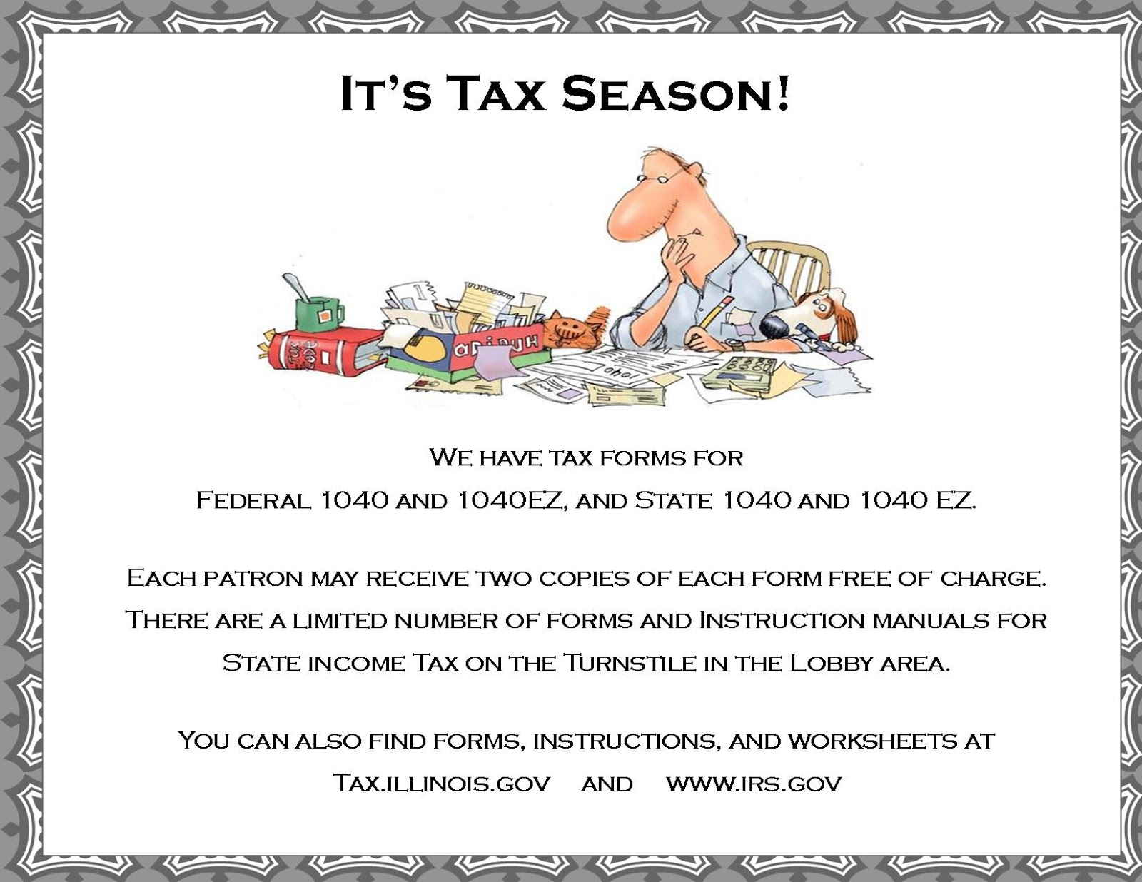 Limestone township library district tax season information tax season information falaconquin