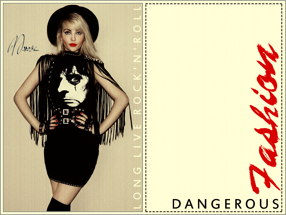 Dangerous Fashion Long Live Rock And Roll Welcome To My Nightmare