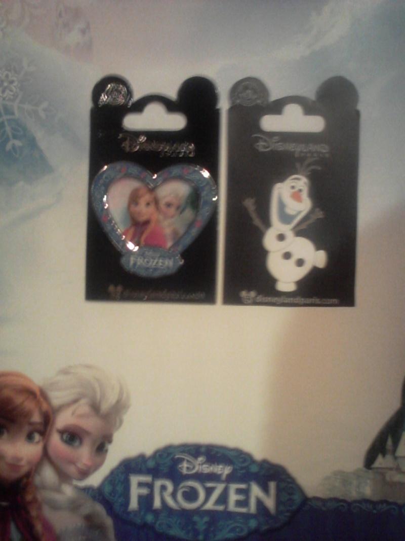 Frozen pins