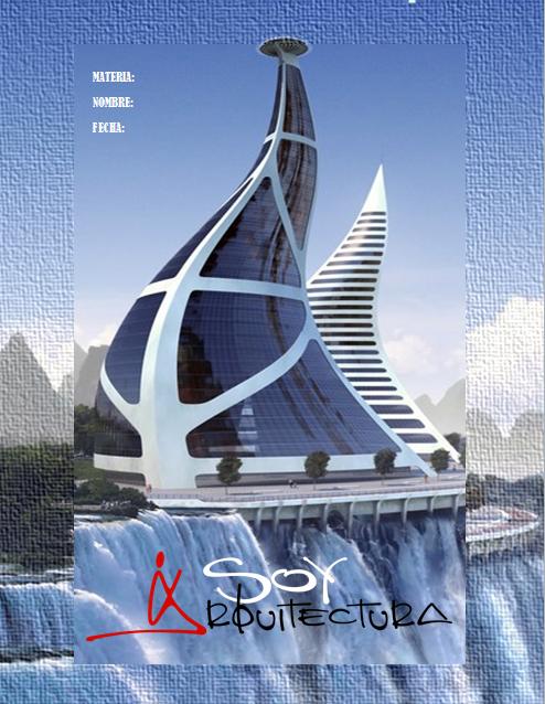 Portadas para word 16 arquitectura for Portadas de arquitectura