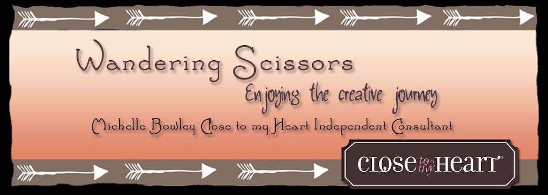 Wandering Scissors