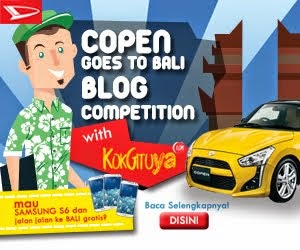 Copen Goes To Bali