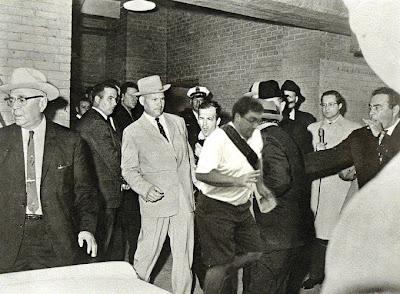 fotobomba en la muerte del asesino de JFK