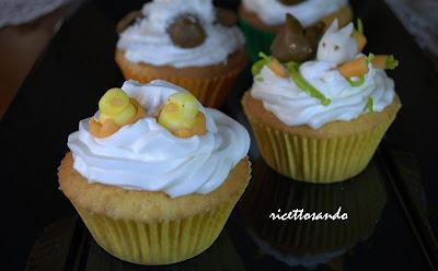 Cupcakes e crema al burro