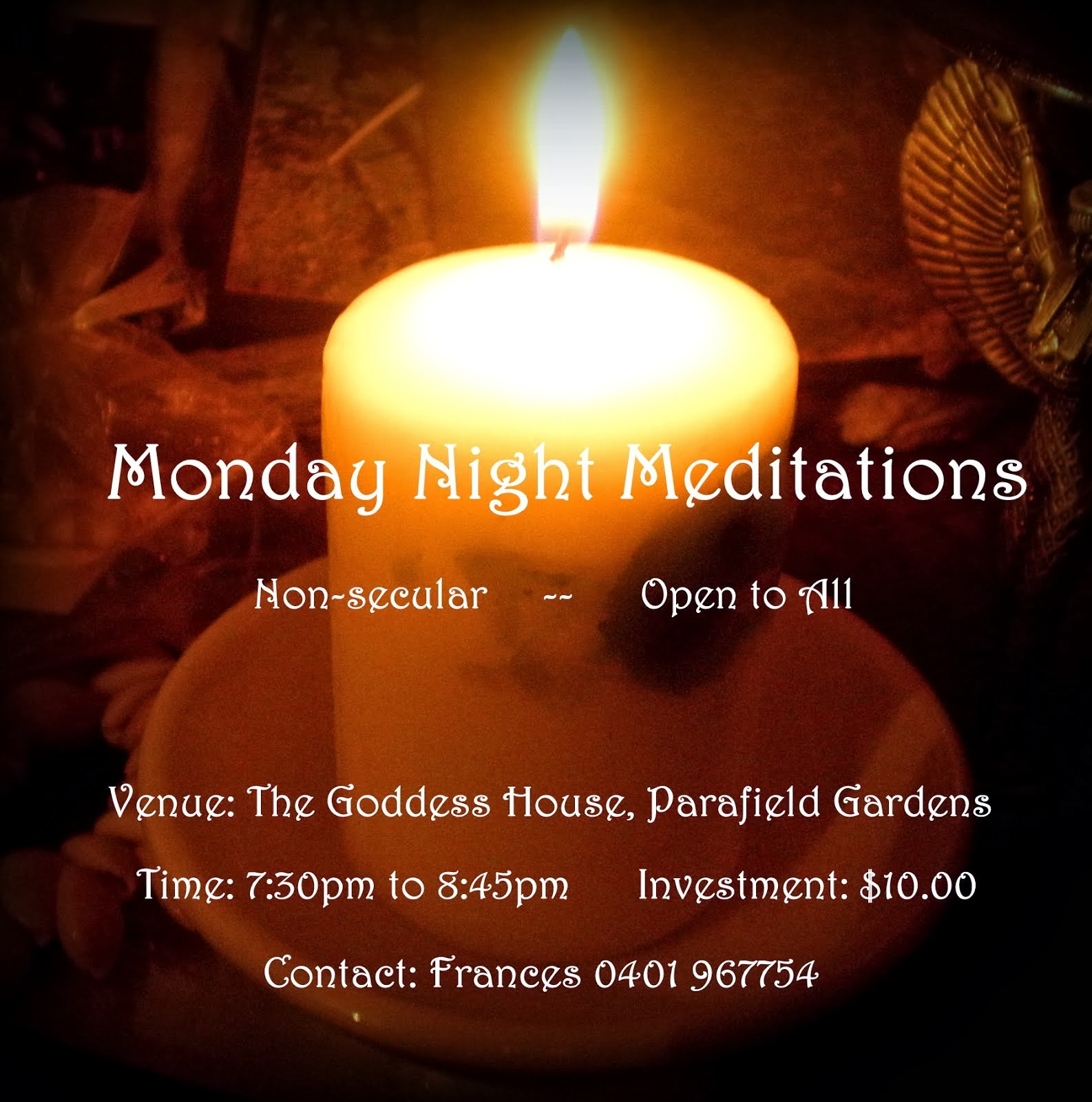 Monday Night Meditations (February 2014)