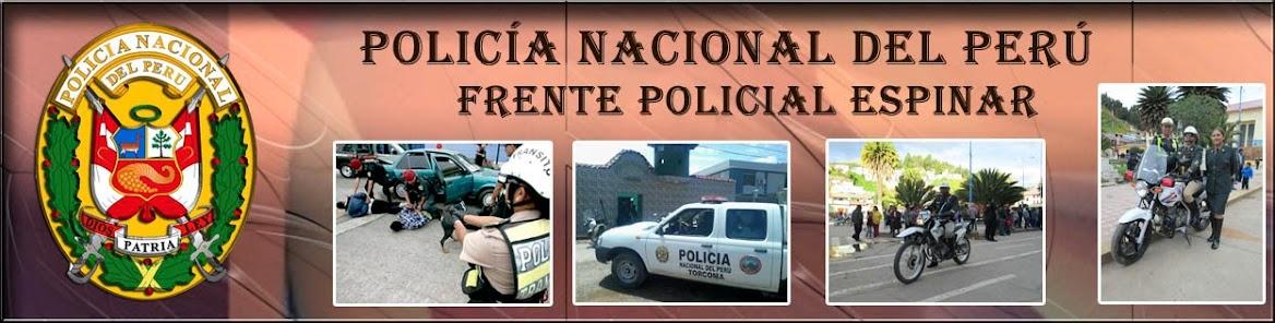 FRENTE POLICIAL ESPINAR