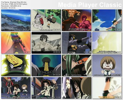 Pada Film Shaman King Episode 06 (Kungfu Master) Bahasa Indonesia ini