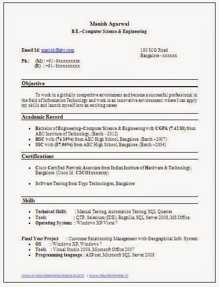 two page resume sample 5610