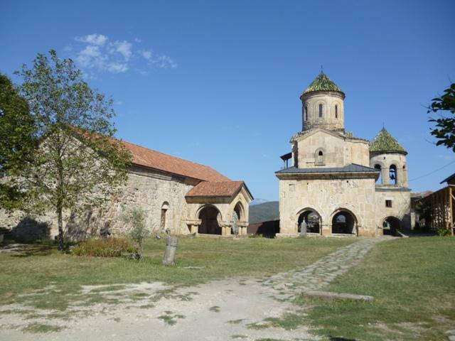 Academia. Edificio de la izquierda