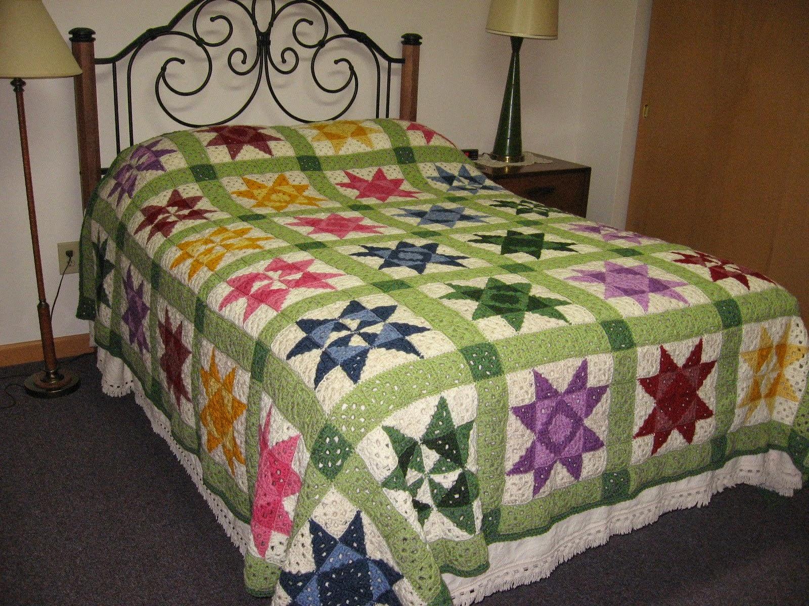 Crochet Patterns That Look Like Quilts : Guarda un po una semplice mattonella base ad uncinetto cosa ti ...