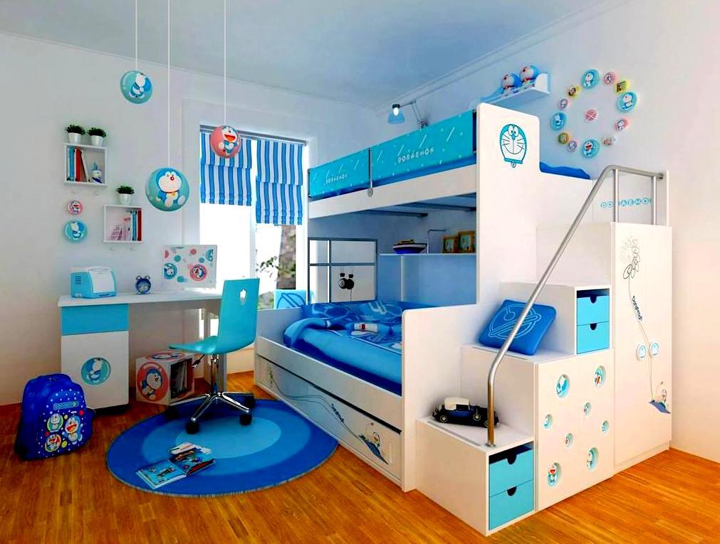 Jangan berlebih-lebih dalam dekorasi bilik tidur, biarlah sederhana ...