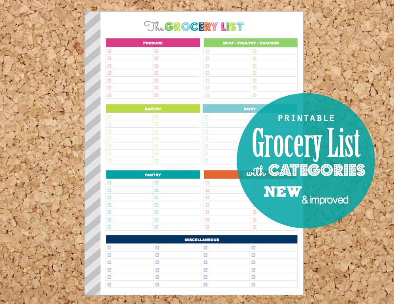 Clean Life and Home: Menu & Kitchen Printables
