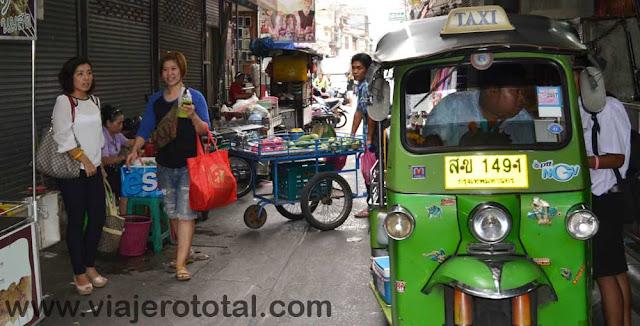 Tailandia Bangkok TukTuk