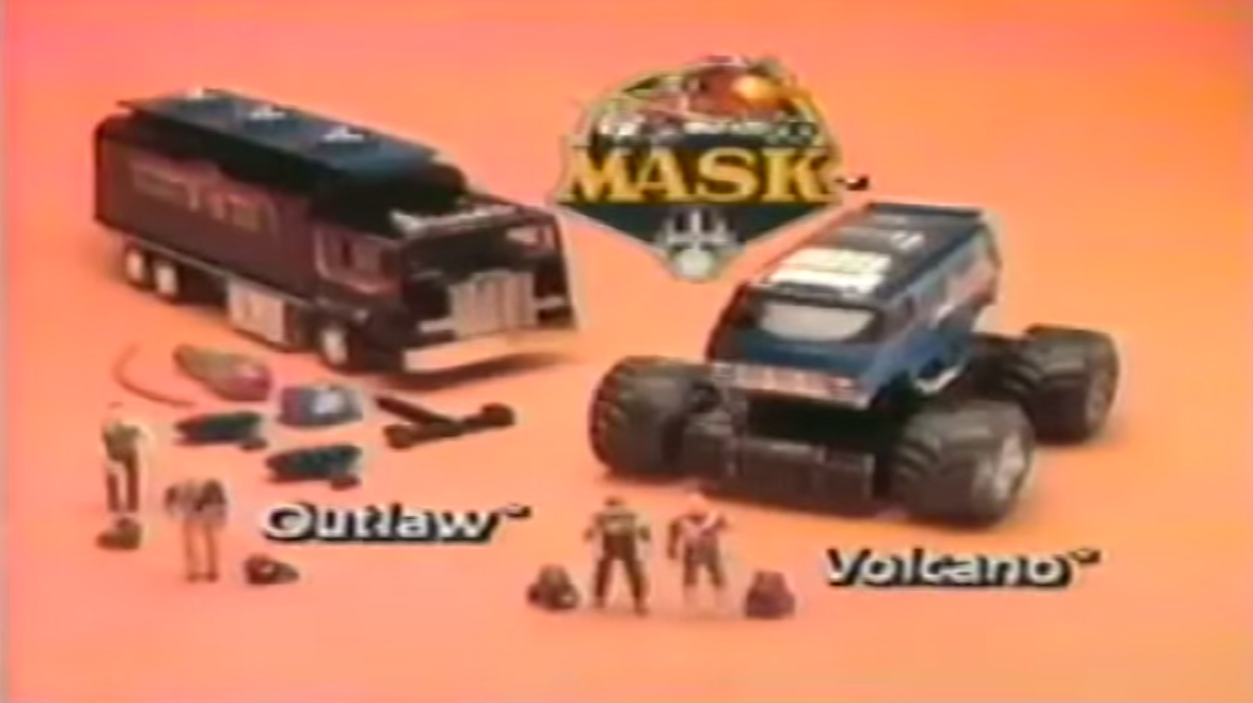 # 2 based on TV-series and toy line USA, 1987 Mask 2nd series