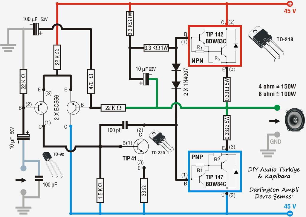 Amplificador 100W ou 150W