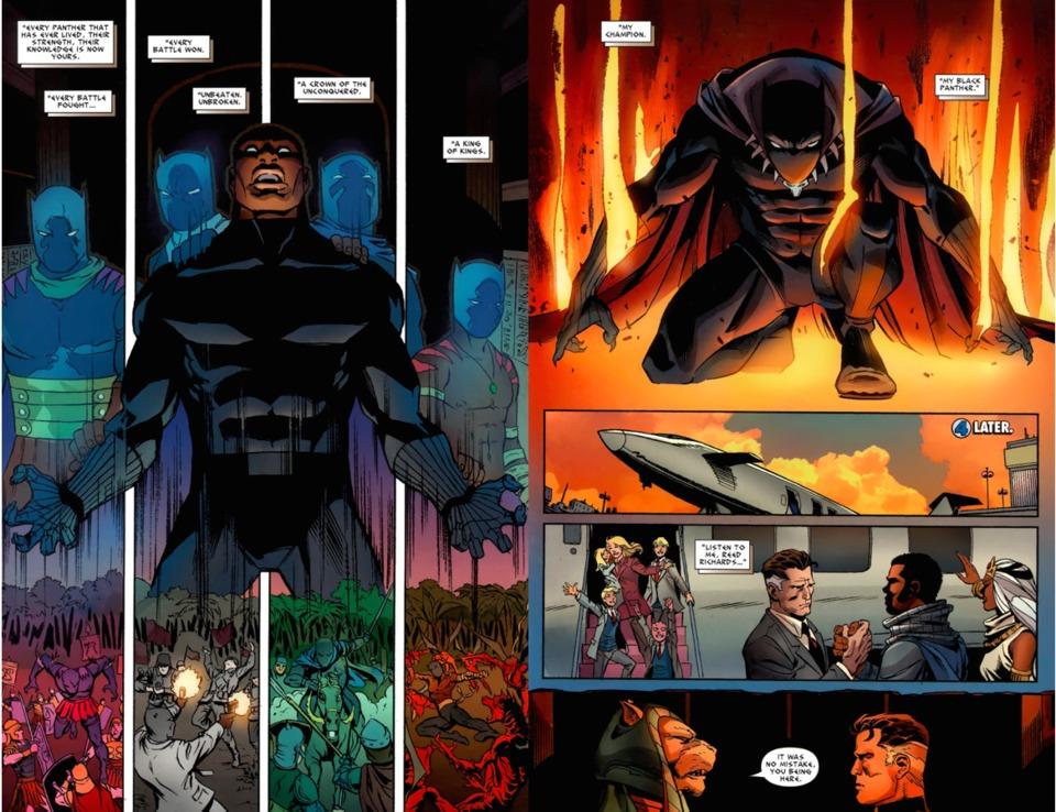 Image result for black panther king ò the dead