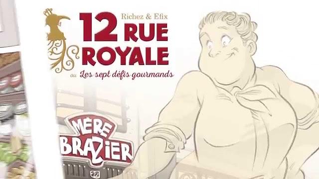 12 rue Royale ou les sept défis gourmands - Trailer