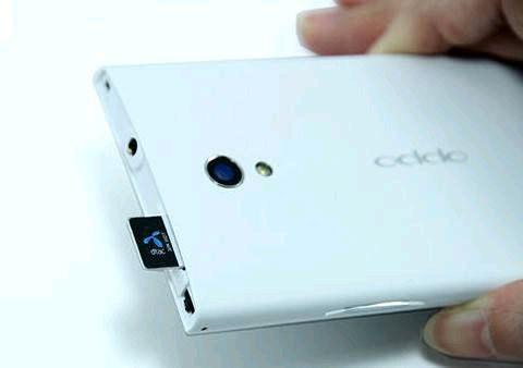 oppo find way simcard