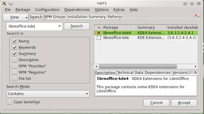 Membuat LibreOffice terlihat bagus pada KDE
