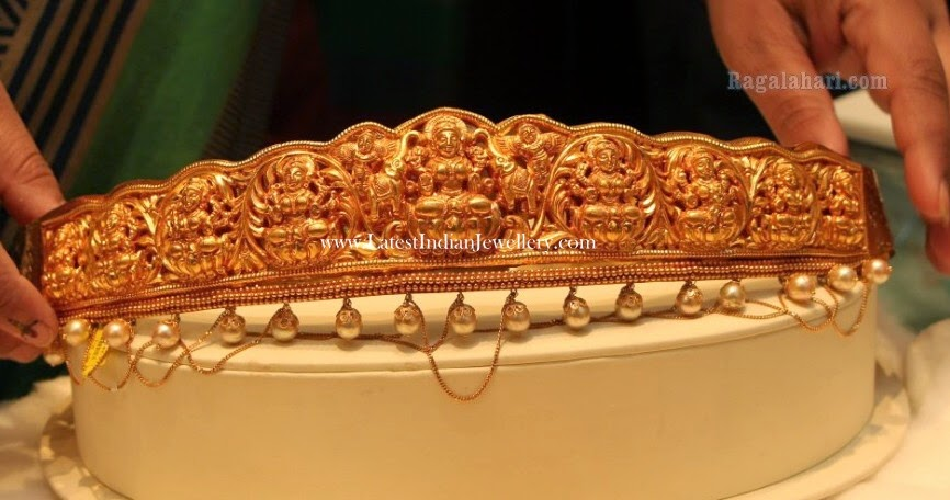 Gold Vaddanam Designs Manepally Jewellers
