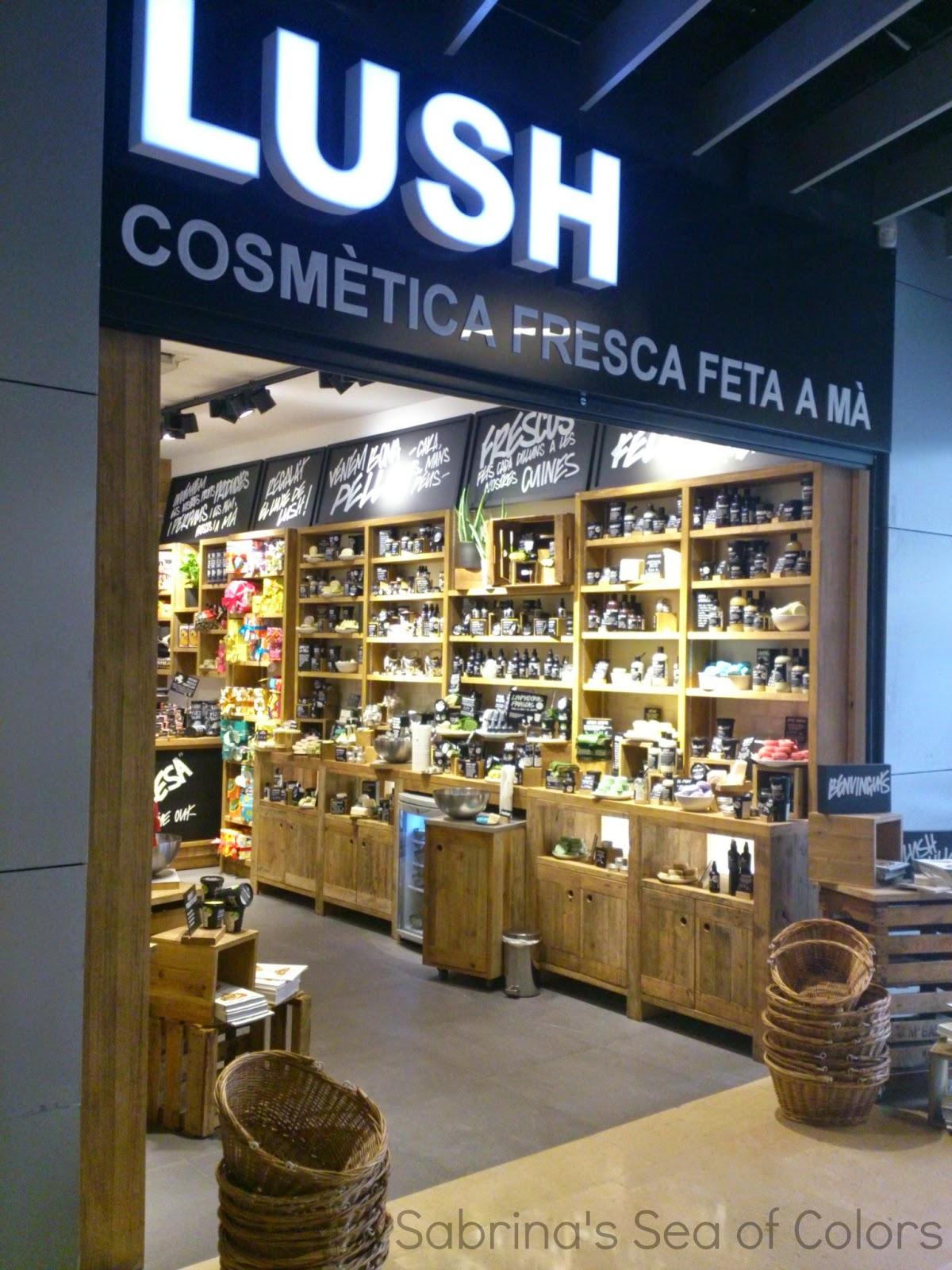Lush Store Barcelona