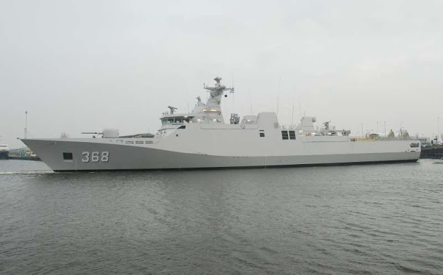 "KRI Frans Kaisiepo – 368 Mendapat Predikat ""The Most Impresice Ship"""