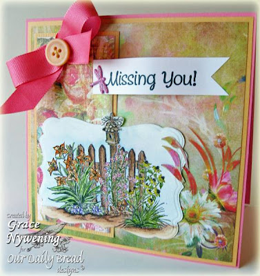 "Our Daily Bread designs ""Missing You"" Designer Grace Nywening"