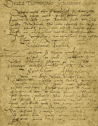 rokopis Starogorski (SLO), manoscritto di Castelmonte (Stara Gora) (D)
