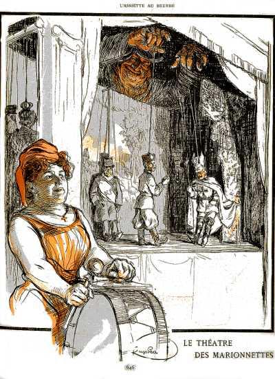 Kupka+the%25C3%25A2tre+marionettes+1903 dans Politique